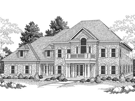 westbrooke manor luxury home plan 051s 0041 house plans