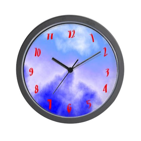 cool clocks cool clocks distorted numbers wall clock by cosmeticplastic