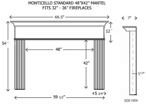 wood fireplace mantels builder mantels monticello