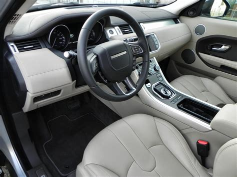 evoque land rover interior 2015 range rover evoque review