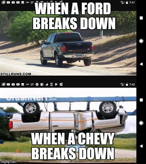 Chevy Memes Against Ford ford memes against chevy