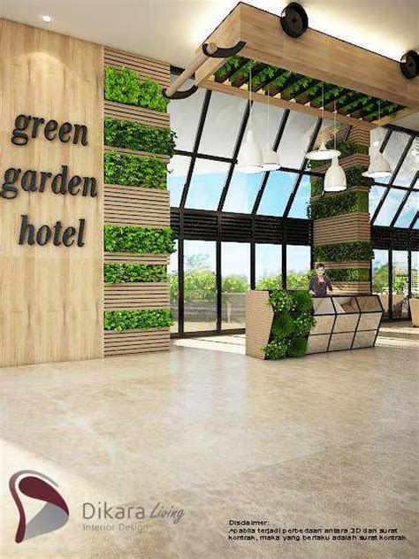photo  lobby eco green  industrial interior design concept  hotel eco green combined