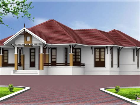 4 Bedroom Kerala House Plans Single Floor House Elevation Single Floor House Elevation Hyderabad House Design Single Storey