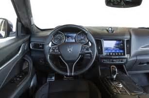 Maserati Suv Interior 2016 Maserati Levante Review Autocar
