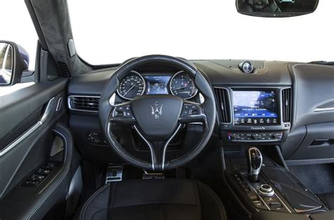 maserati levante dashboard 2016 maserati levante review autocar