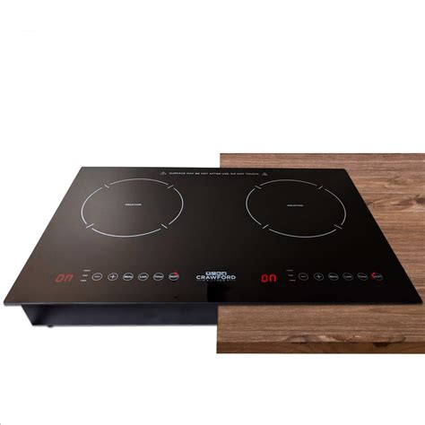 two burner electric cooktop portable induction cooker portable 1800w electric cooktop