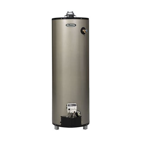 shop whirlpool 6th sense 50 gallon 12 year gas water