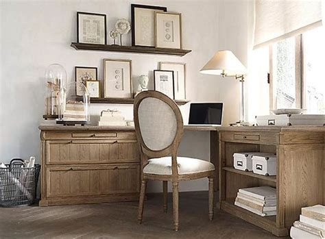 bureau office shabby chic style home office