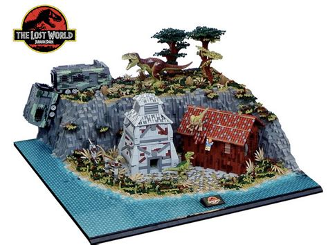 tutorial lego jurassic park un diorama lego qui rend hommage 224 jurassic park