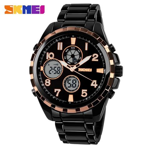 Skmei Jam Tangan Digital Pria Dg1140 Golden skmei jam tangan analog digital pria ad1021 golden