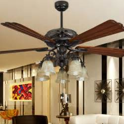 Living Room Ceiling Fans Fashion Ceiling Fan Lights Retro Style Fan Ls Bedroom Dinning Room Living Room Fan
