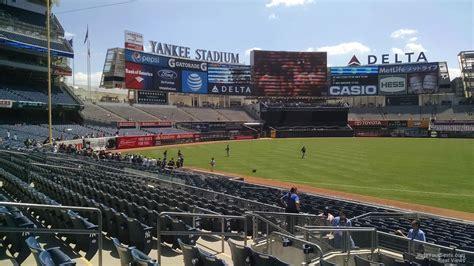 section 125 yankee stadium yankee stadium section 127a new york yankees