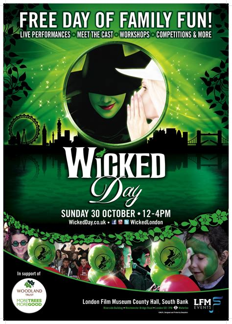 printable wicked poster 7 best images of wicked printable poster wicked musical