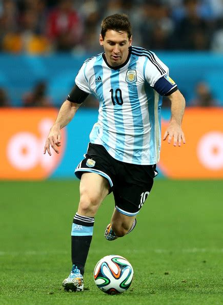 lionel messi photos photos netherlands v argentina