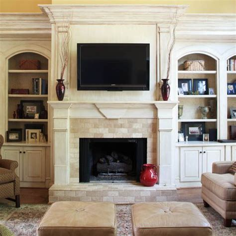 17 Best images about Fireplace on Pinterest   Mantels