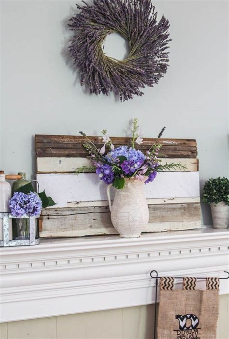 summer home decor ideas 42 awesome summer mantel d 233 cor ideas digsdigs