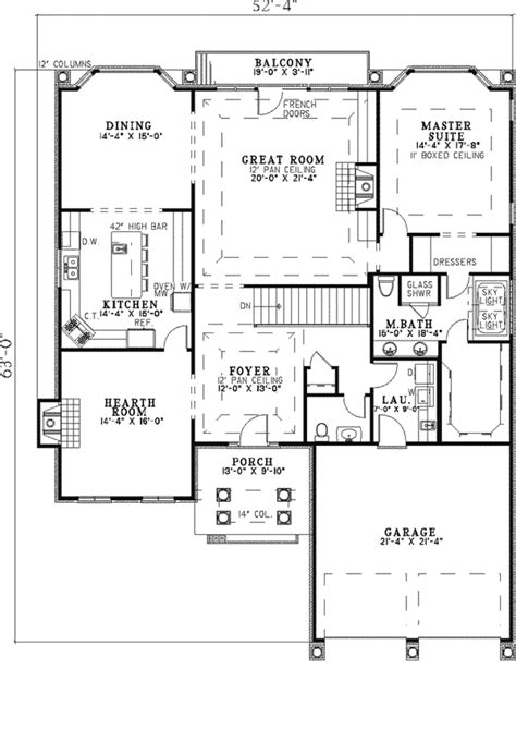 southern ranch house plans eastover southern ranch home plan 055d 0314 house plans
