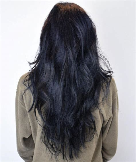 how to get back to hair color blue black hair how to get it right