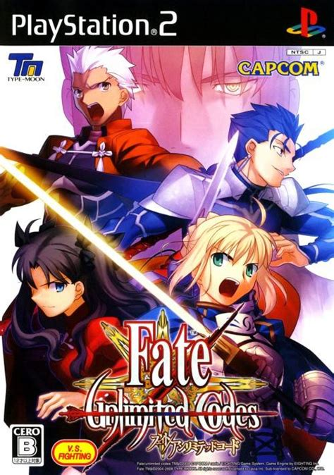 fate stay night unlimited codes side by side comparison video fate unlimited codes box shot for playstation 2 gamefaqs