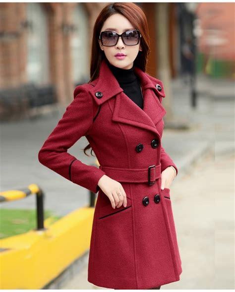 Jaket Endot Baju Wanita jaket musim dingin big size trendy coat jyy439 6898red coat korea