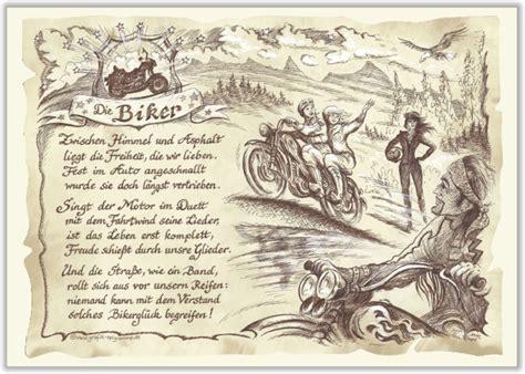 Motorrad Spr Che Hochzeit by Gedicht Geschenk Sportbild Biker
