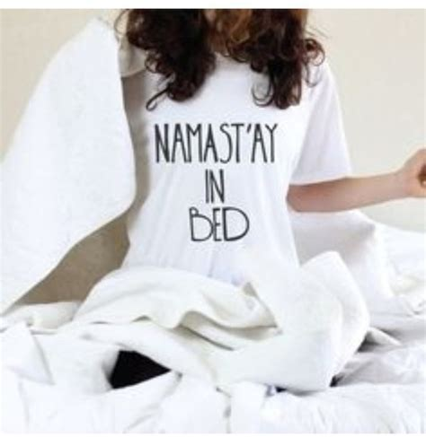 Blouse Namaste blouse bedding stay in bed sleep namaste wheretoget