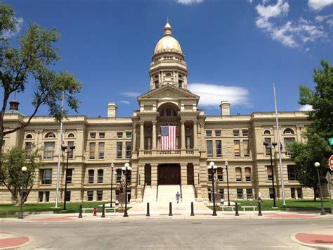 Wyoming Maxy wyoming state capitol