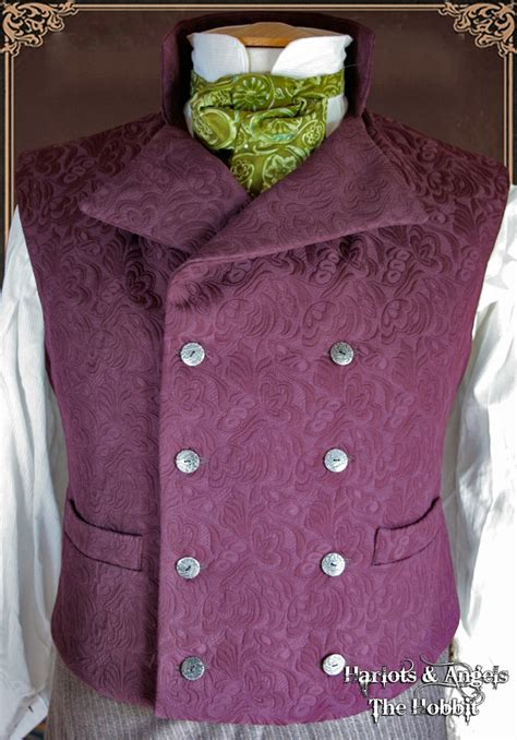 pinterest vest pattern the quot hobbit quot waistcoat vest styles i wish i could pull