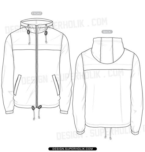 Jacket Template fashion design templates vector illustrations and clip