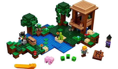 Sale Lego 21133 Minecraft The Witch Hut Lego Minecraft The Witch Hut 21133 George At Asda