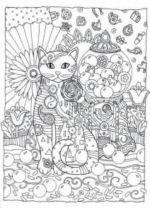 cat coloring pages for adults creative cats coloring book by marjorie sarnat dover
