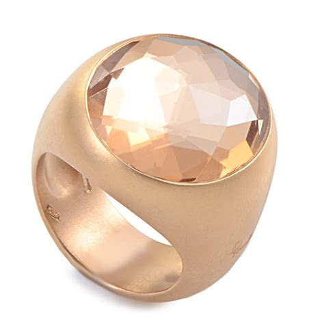 pomellato uk pomellato narciso womens 18k brushed gold