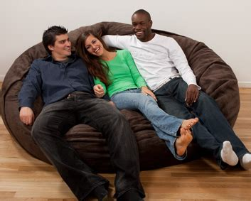 lovesac the big one lovesac goat beanbag tmb