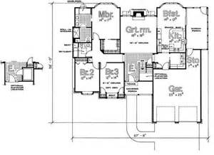 Handicap Accessible Floor Plans Wheelchair Accessible House Plans Handicap
