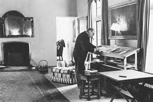 Donald Rumsfeld Standing Desk Winston Churchill Richard Turner