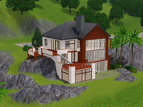 Keanu   huge hillside house   simension