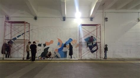 mural terowongan kendal  universitas paramadina