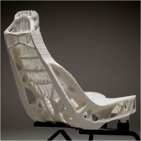 car seat structure topology optimized car seat structures proto a