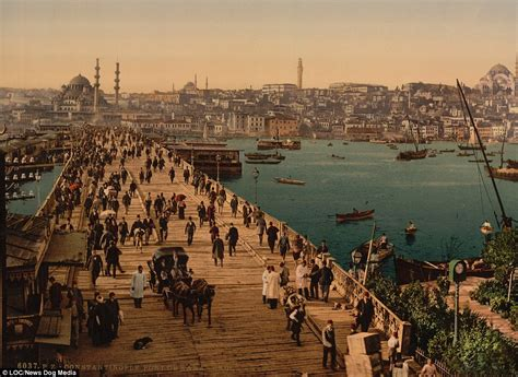 ottoman constantinople fascinating pictures show life in 1890s constantinople