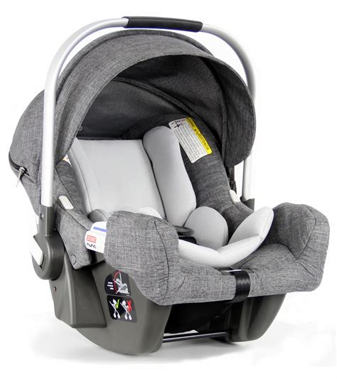 and black car seat stokke nuna pipa infant car seat black melange
