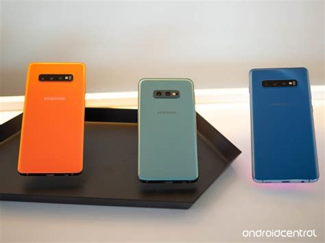 Samsung Galaxy S10 Flamingo Pink by Which Color Galaxy S10 Should You Buy Android Central