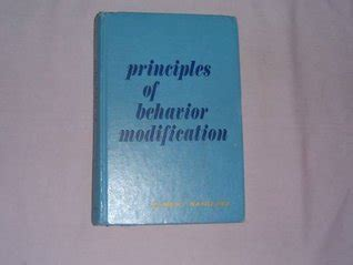 Behavior Modification Bandura by Principles Of Behavior Modification By Albert Bandura