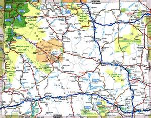 Map Of Wyoming State by Map Of Wyoming 100 More Photos