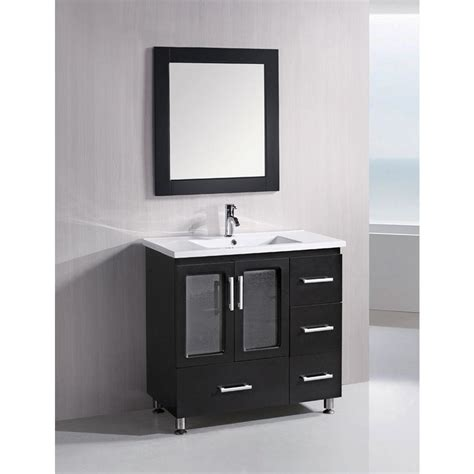 home depot design element vanity design element stanton 36 in w x 18 in d vanity in
