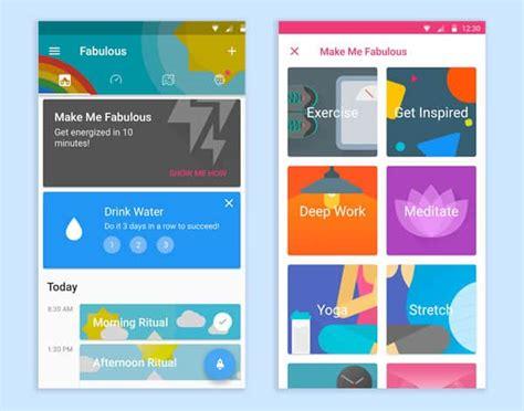 app layout trends 2018 ninjawards top application design trends app
