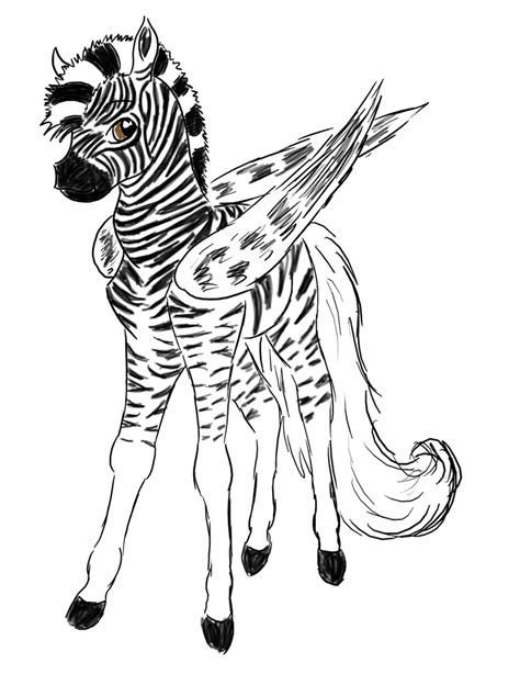 baby zebra coloring page cute baby zebra drawings