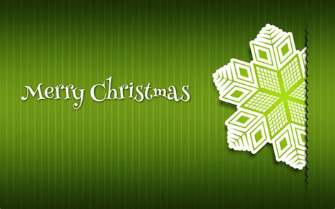 merry christmas card paper snowflakes  green background  adobe photoshop cs photoshop