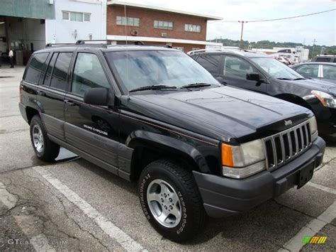 1996 Jeep Laredo 1996 Black Jeep Grand Laredo 4x4 18154430 Photo