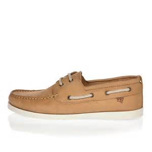 island boat shoes river island leather boat shoes in brown for lyst