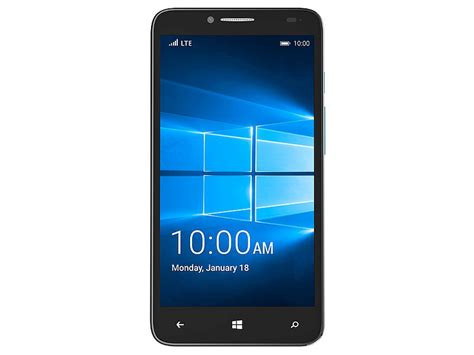 mobile news alcatel onetouch fierce xl with windows 10 mobile launched